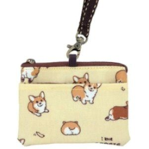 Waterproof Corgi Coin Purse & Card Pouch Holder